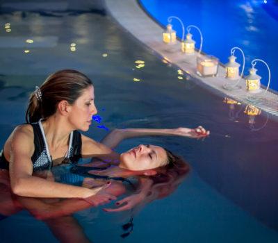massaggio in acqua